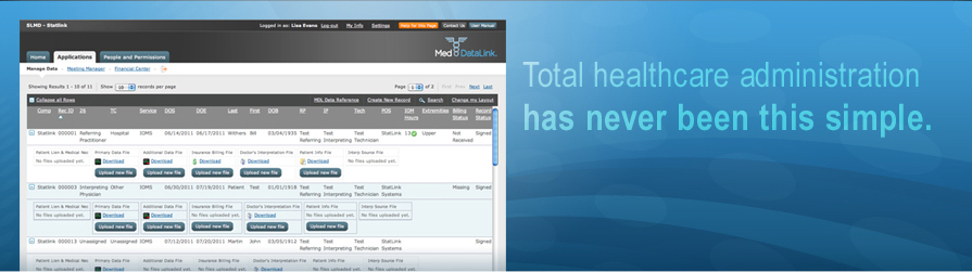 Med DataLink | Total healthcare administration